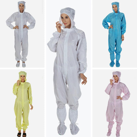 Isolation Hooded  Coverall  Protective Disposable Factory Hospital Safety Clothing suit