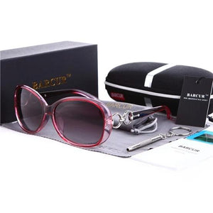 Polarized  Women Brand Designer Female women Vintage Sunglasses