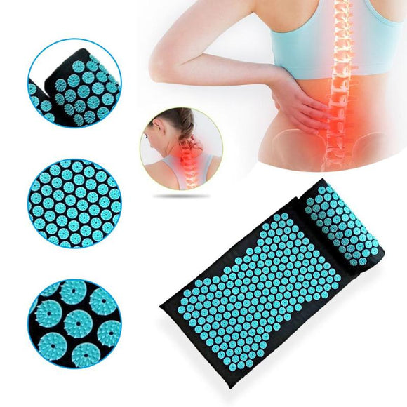 Massage Cushion Pillow Relieve Back Body Pain Spike Mat