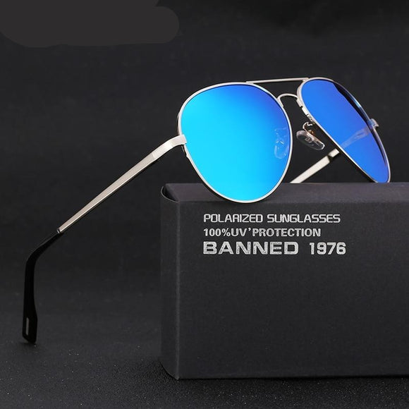 HD Polarized designer brand women men vintage classic sunglasses