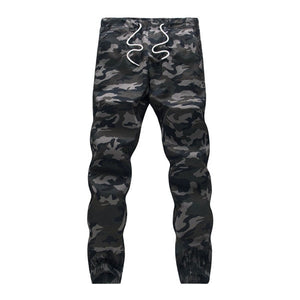Cotton Men Jogger Pencil Harem Pants Camouflage Military Pants