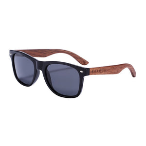 Black Walnut Anti-Reflect Men Women Mirror Sunglasses