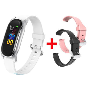 Men Women  Android IOS Fitness Tracker  Bluetooth Smart-watch