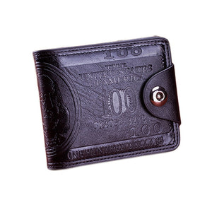 Brand Leather Men Wallet  Casual Clutch Purse