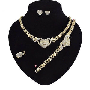 jewelry sets earring  for women wedding necklace luxury jewelry set