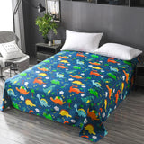 Floral Sanding Soft  Big Large Size 230x230cm Flat Bed Sheet