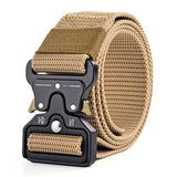 Men Tactical  military big size Outdoor Tactical Military Nylon Belt