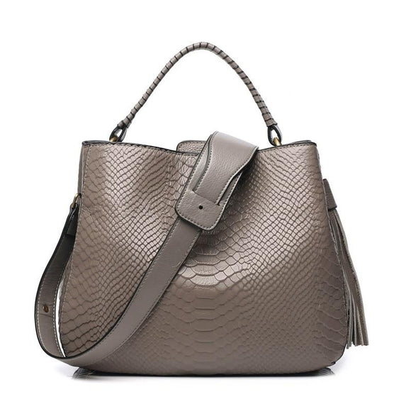Genuine Leather Handbags 2020 Fashion High Quality Female Shoulder Bag