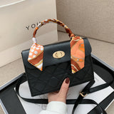 Fashion Exquisite S Casual PU Shoulder ladies Handbags Trunk Purse