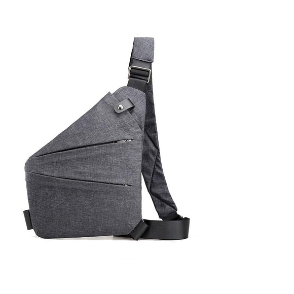 Thin Personal Holster Tactical Shoulder Sling Vintage Crossbody men Bag