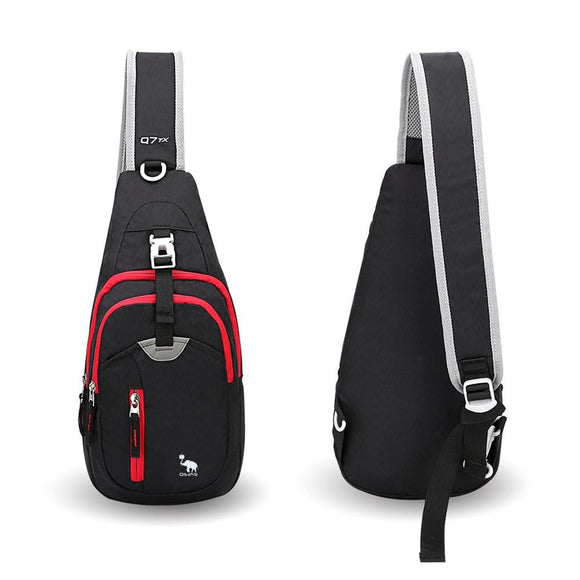 Casual Crossbody Chest  Sling Shoulder Men One Strap Mini Male Bag