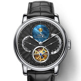 Rome dial Automatic gear Mechanical Leather Cost wrist watch