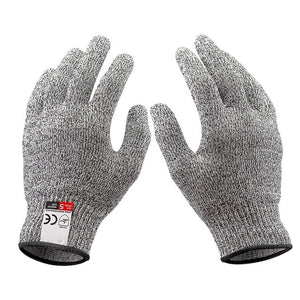 Cut-resistant level 5 anti-puncture anti-skid kitchen gloves