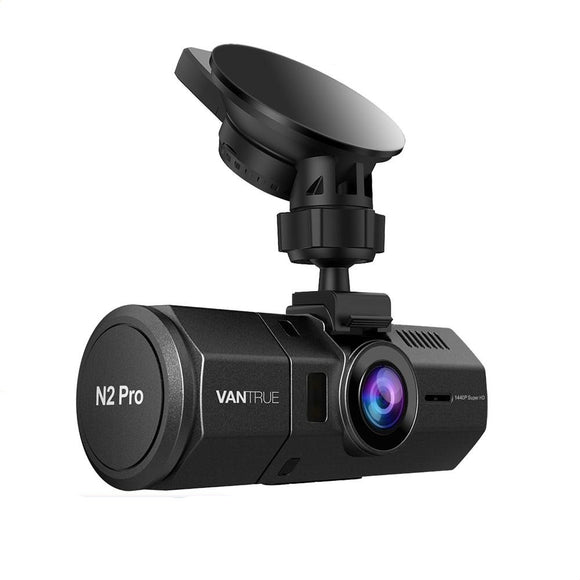 Dual Dash Cam Night Vision GPS HD 1080P Car DVR Video Recorder