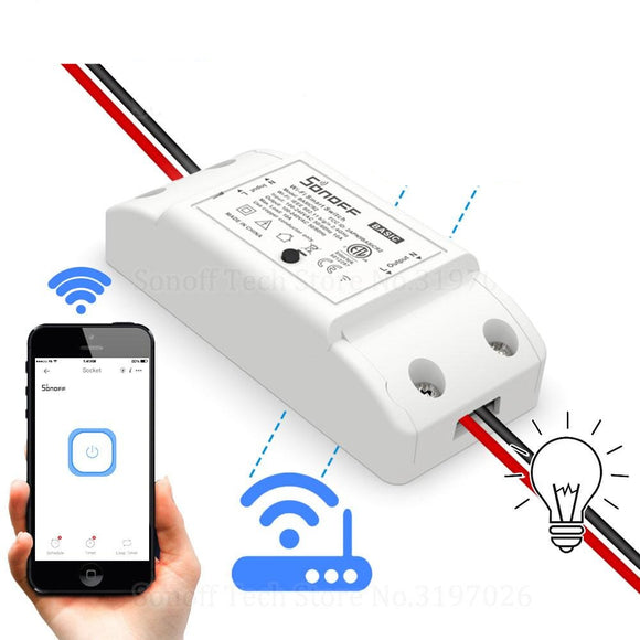 Wifi DIY Smart Wireless Remote Switch  Light Controller Module