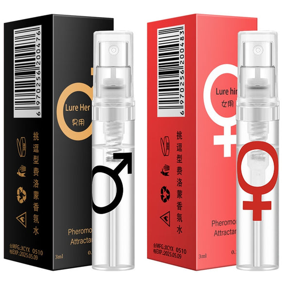 3ml Pheromone Perfume Woman  Men Body Spray Flirt Perfume