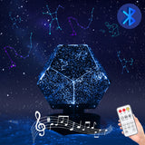 Star Projector LED Night Light Bluetooth Galaxy Projector