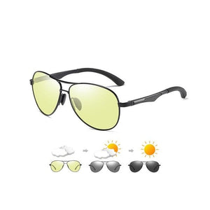 Aviation Sunglasses For Men  Fashion Polarized  Photochromic Eyewear