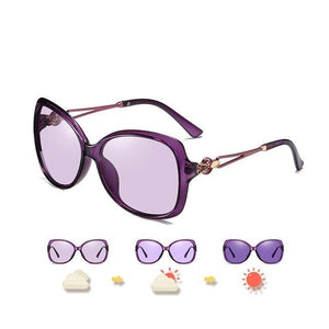 Women Polarized  UV400 Oversized  Female Travel Sunglasses