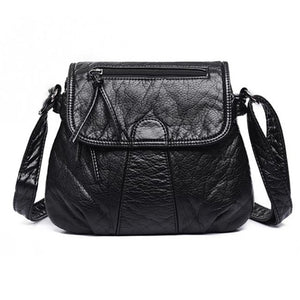 Soft PU Leather  High Quality Fashion Women's  Handbag