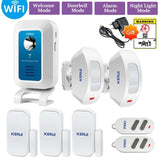 32 tones Welcome/Doorbell/Alarm/Night Light Host  APP Control Wireless Alarm System