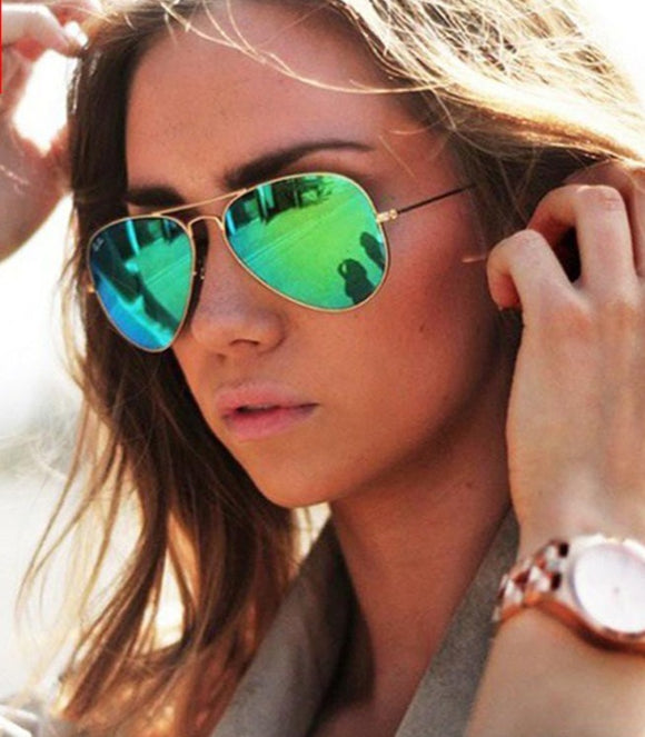 LeonLion Pilot Mirror Sunglasses
