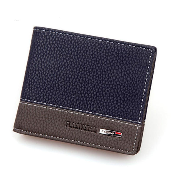 PU Leather Male Wallet  Purse