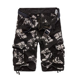 Military Camouflage  Cotton Loose Work Casual Short Pants Plus Size for men