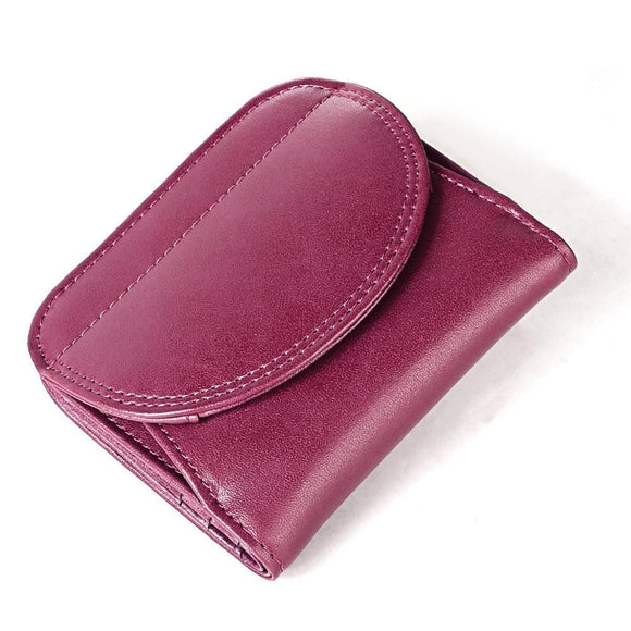 Fashion women wallet genuine leather female small wallet purse
