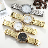 Women Stainless Steel Bracelet Wrist Watch  Fashion Rhinestone Quality Luxury Ladies Watch