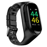 AI Smart Watch With Bluetooth Earphone Heart Rate Monitor Smart Bracelet