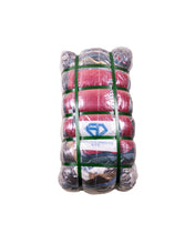 Load image into Gallery viewer, Moncler Tricolour Ribbing Puffer Jacket - Navy