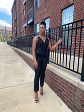 Load image into Gallery viewer, Black Cami Jumpsuit