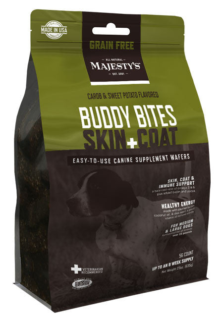 Majesty's Buddy Bites Skin+Coat Grain-Free