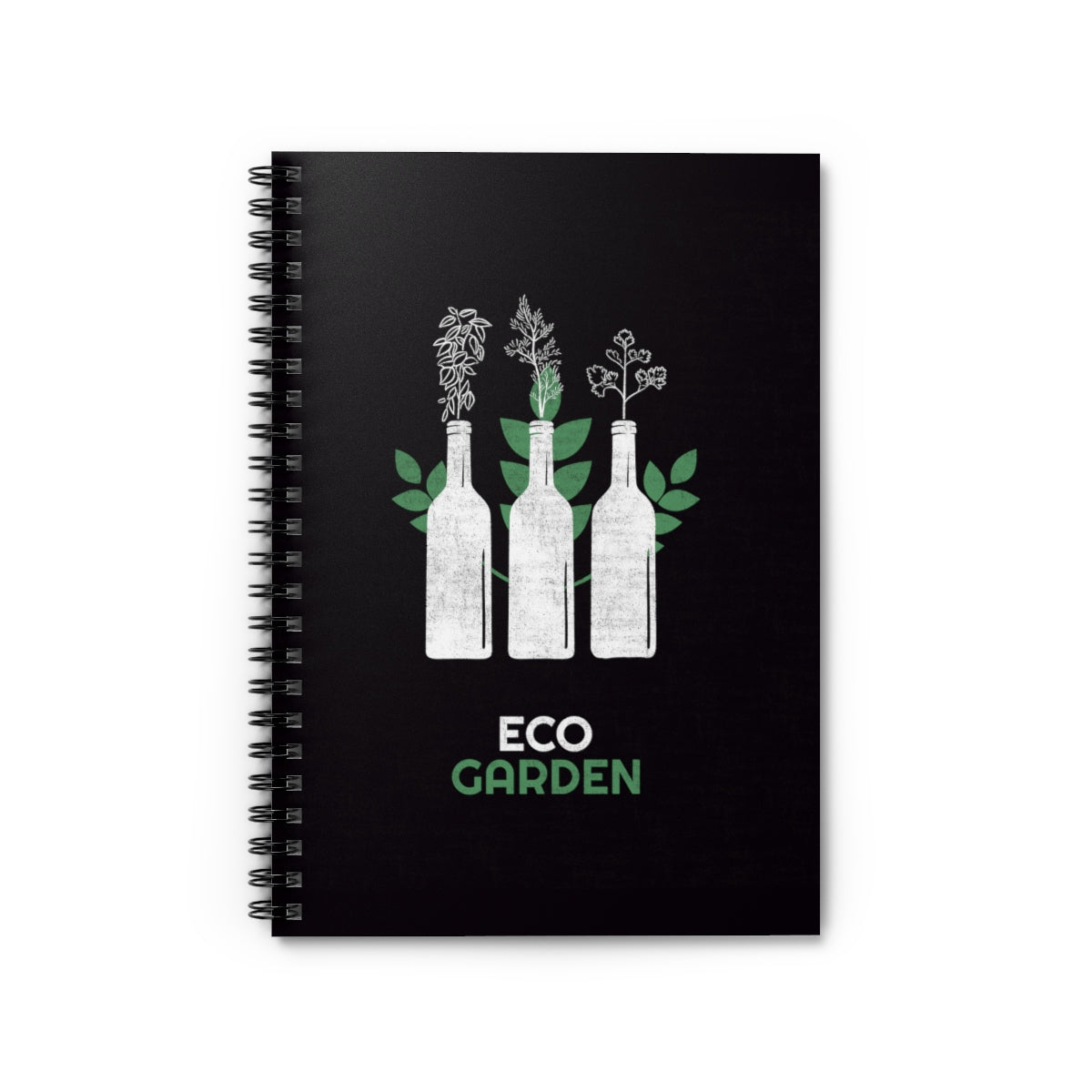 ECO GARDEN  Notebook - Ruled Line