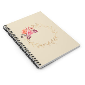 FLOWER Notebook - Ruled Line