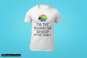 I'M THE RAINBOW SHEEP OF THE FAMILY Tee