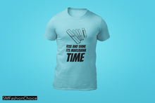 Load image into Gallery viewer, RISE AND SHINE IT'S MARIJUANA TIME Tee