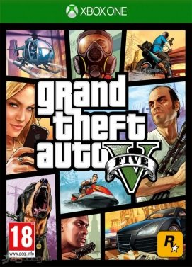 Grand Theft Auto V (Xbox One) - Standard Edition