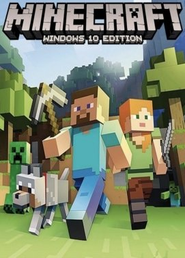 Minecraft for Windows 10 (PC) - Standard Edition