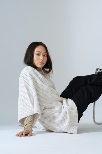 Kowtow | Basket Top | natural marle | Bio-Baumwolle