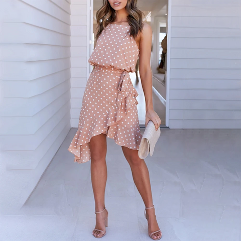 Summer Polka Dot women's dress