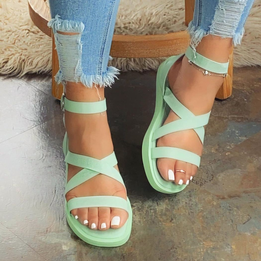 Hot candy trend sandals
