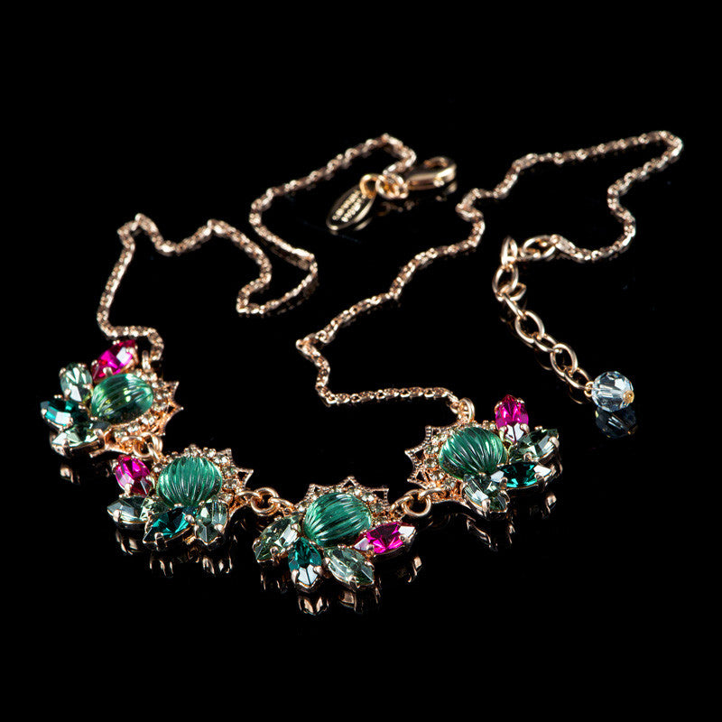 Anton Heunis 'Mood for Love' 4 Crystal Cluster Necklace (ML1.03)