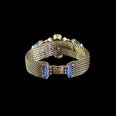 Konplott 'La Maitresse' Spectacular Jewelled Blue Bracelet (253367) back