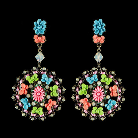 Konplott 'Macaroon' Large Disk Clip-on Earrings (052359)