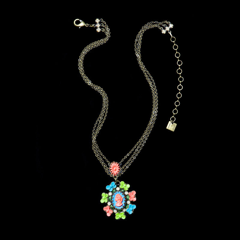 Konplott 'Macaroon' Small 3 Chains Pendant Necklace (051833)