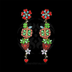 Konplott 'Sex in the Kitchen' Super Long Fruity Earrings (109480)