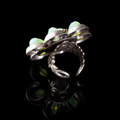 Ollipop Giant Retro Flower Ring (R151)