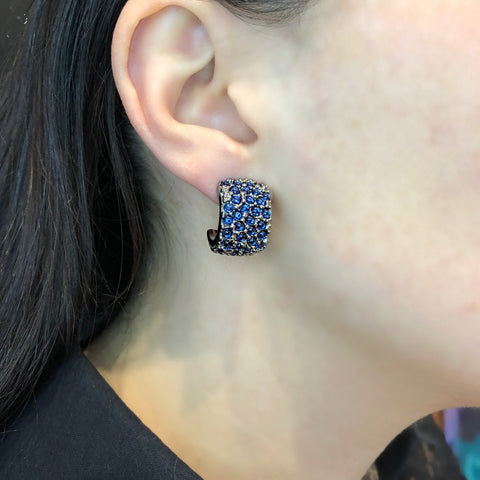 Simon Harrison Fabulous Eagle Ray Earrings (SHJ015) Model
